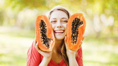papaja - owoc, jak jeść, właściwości