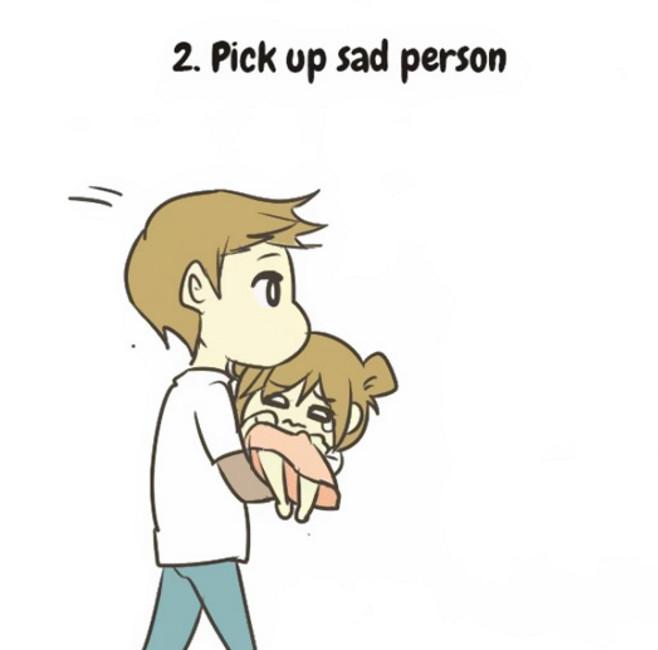 Jak zaopiekować się smutną małą osóbką