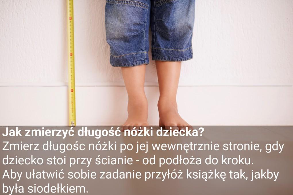 jak zmierzyc dlugosc nozki dziecka1