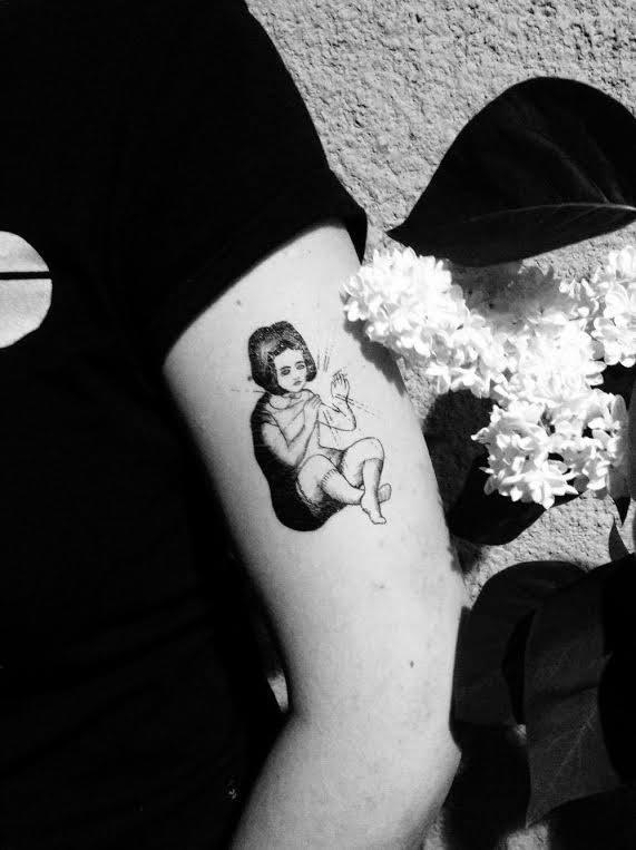 fot. Znaki Szczególne / Tatuaże Zmywalne