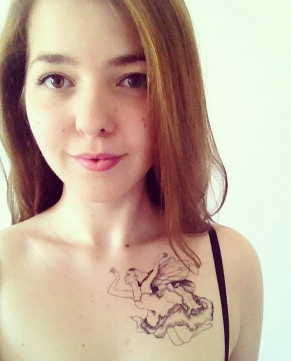 fot. Znaki Szczególne /Tatuaże Zmywalne