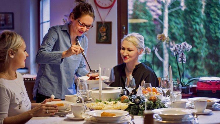wigilijne gotowanie z Gosią Ohme