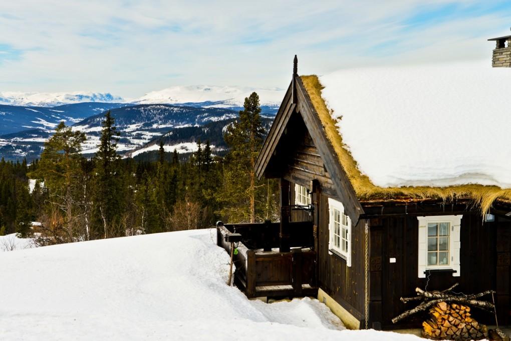 Magiczna zima w Norwegii