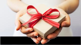 Świąteczny prezentownik