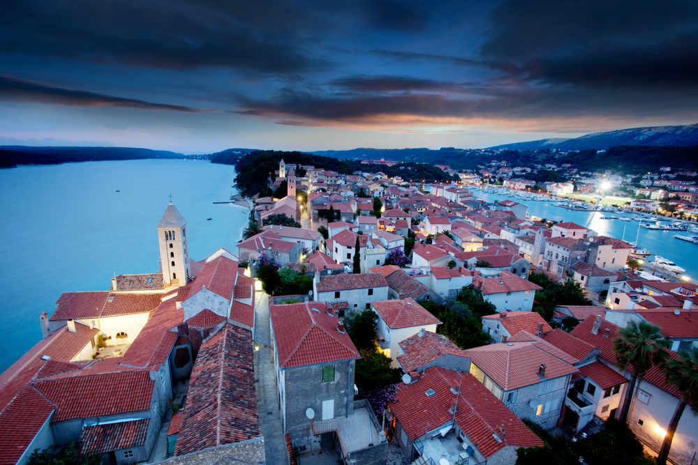 shutterstock_53417659_croatia_rab_night