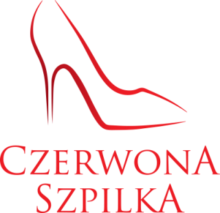 czerwona szpilka logo