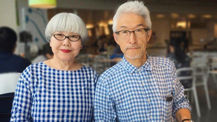 Małżeństwo od 37 lat ubiera się w tym samym stylu. Już stają