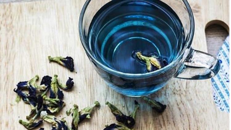 herbata niebieska