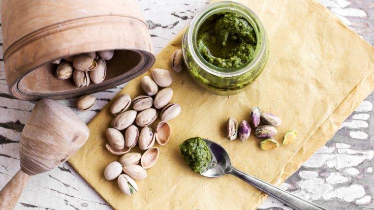 Przepis na pesto z orzeszków pistacjowych