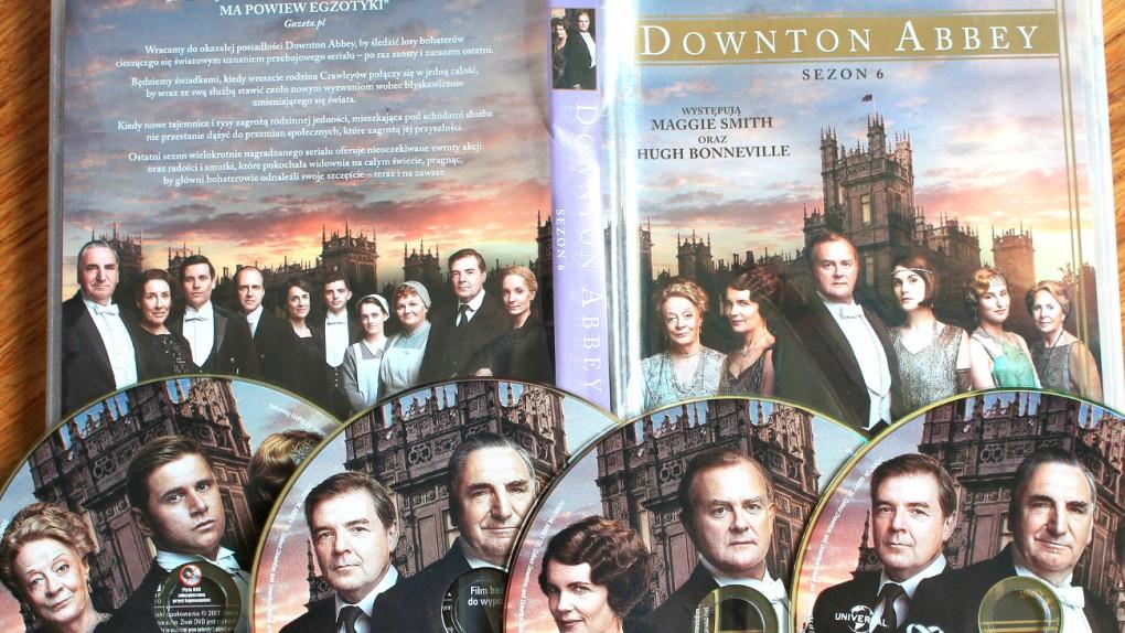 """czteropłytowe wydanie szóstego sezonu """"Downton Abbey"""" to prawdziwa gratka dla miłośników serialu"""