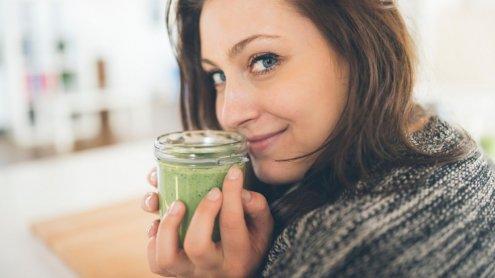 Zielony koktajl dodający energii - Koktajle - najzdrowszy fast food