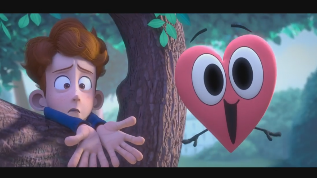 fot. screen z YouTube/ In a Heartbeat Animated Short Film