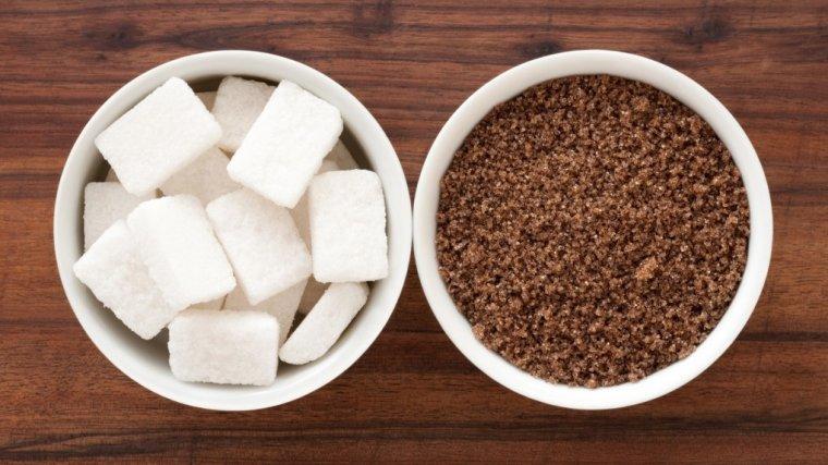 Cukier biały czy brązowy?