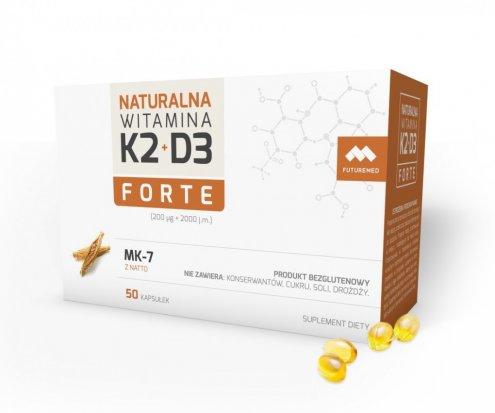 Naturalna Witamina K2 MK-7 + D3