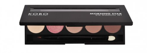 KOBO_Professional_MORNING_STAR_Eye_Shadow_Set_góra_otwarta