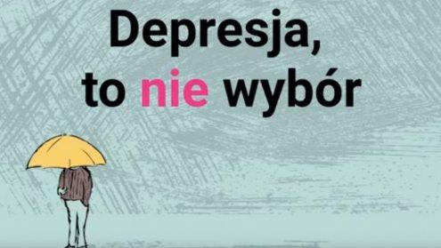 Depresja to nie wybór. To choroba