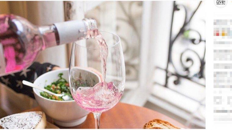 Różowe wino Łzy jednorożca
