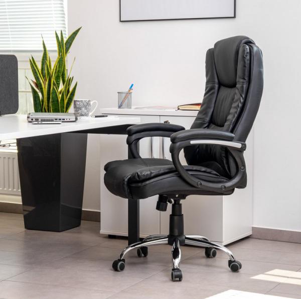 skórzany fotel obrotowy