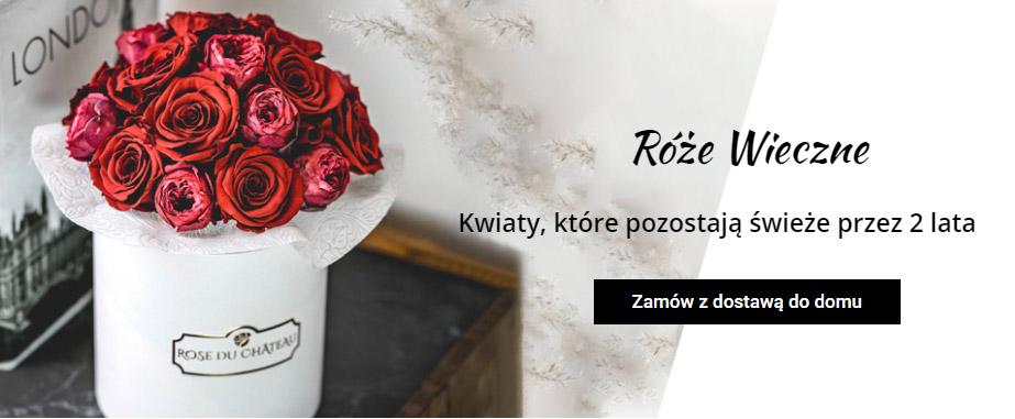 Flower boxy Rose du Château